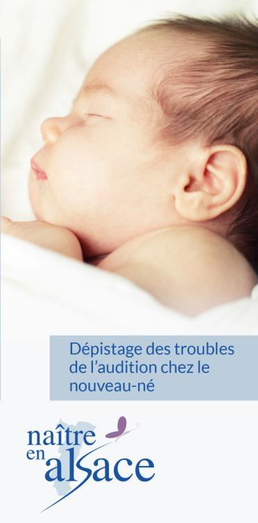 Brochure Dépistage de la Surdité