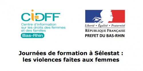Journées de formation sur les violences faites aux femmes