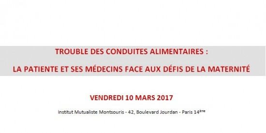 Colloque à l'Institut Mutualiste Montsouris