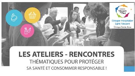 """Atelier-rencontre """"Cosmétiques et produits d'hygiène"""""""